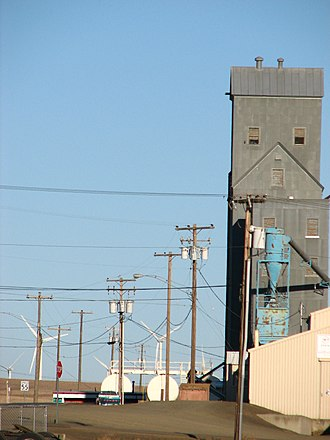 Wasco, Oregon - The agricultural and wind power industries are prominent around Wasco.