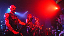 Watain bei einem Konzert in Springfield (Virginia), 2007