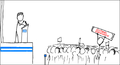 Webcomic xkcd - Wikipedian protester-GREEK-1.png