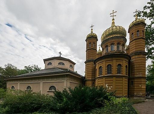Weimar. Historischer Friedhof: Fürstengruft und Russisch-orthodoxe Kirche Hl. Maria Magdalena