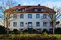 Werl, denkmalgeschütztes Haus mit Freitreppe, Melsterstraße 14.JPG