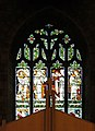 West window of All Hallows, Allerton - Four evangelists.jpg