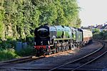 Weston-super-Mare - 34046 arriving with up Torbay Express.JPG