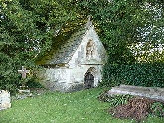 Edmund Boulter - Wherwell crypt for John Fryer's descendants