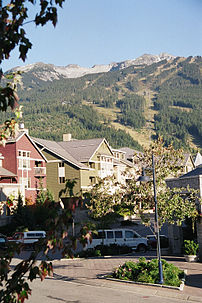 Whistler, British Columbia, Sep 23, 2002.