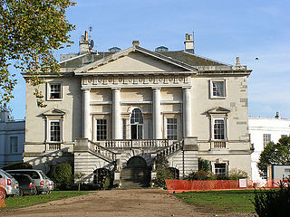 White Lodge, Richmond Park Georgian house situated in Richmond Park, in the London Borough of Richmond upon Thames