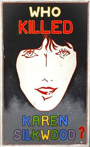 Karen Silkwood - Poster from the Christic Institute archives.