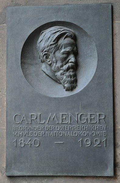 File:Wien, Universität, Tafel Carl Menger.JPG