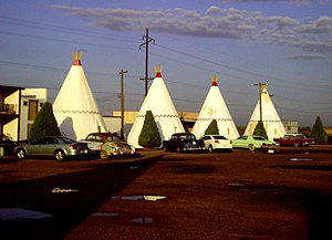 Sally Carrera - Wigwam Motel in Arizona