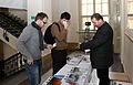 Wikiconference 2013 Prague, registration desk.jpg