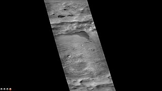 Fontana (Martian crater) crater on Mars