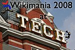 Wikimania 2008 at Tech.jpg