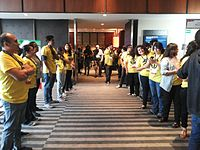 Wikimania 2015-Thursday-Welcome reception (8).jpg