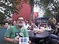 Wiknic Eindhoven 2014-07-06 at 14.40 Wikidata selfie failing.jpg