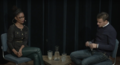 Wilfred Genee interviewing Sylvana Simons.png