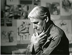 Willem de Kooning in his studio.jpg