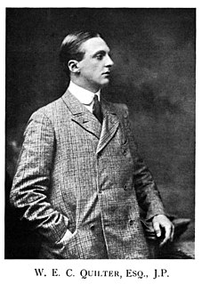 Sir Cuthbert Quilter, 2nd Baronet