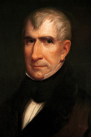 United States presidential election in New Hampshire, 1836 - Image: William Henry Harrison by James Reid Lambdin, 1835 crop