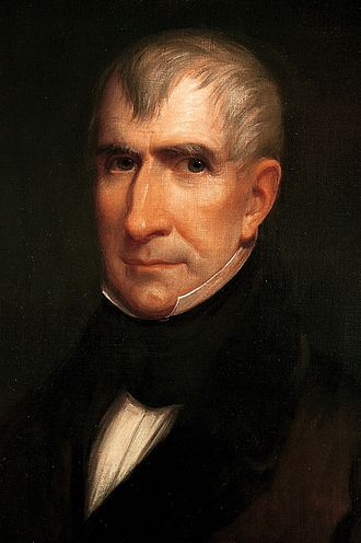 United States presidential election, 1836 - Image: William Henry Harrison by James Reid Lambdin, 1835 crop