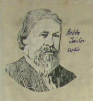 Fred Hobbs - William Hobbs, the father of Fred Hobbs, during the 1860s
