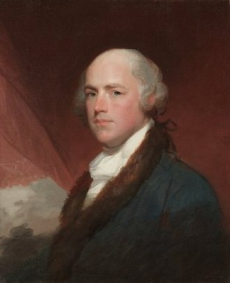 Wilson Cary Nicholas - Wilson Cary Nicholas, by Gilbert Stuart.  1805.
