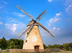 Beckum Hills - Windmill in the Beckum Hills