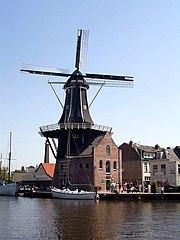 Windmühle De Adriaan, Haarlem