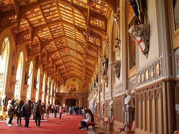 Windsor Castle - St George's Hall