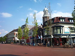 City center of Winschoten in 2010