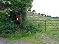 Winterborne St. Martin, postbox No. DT2 184, Ashton Farm - geograph.org.uk - 1364976.jpg