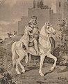 Wladyslaw Lokietek na jarym koniu Mieczyslaw Barwicki.jpg