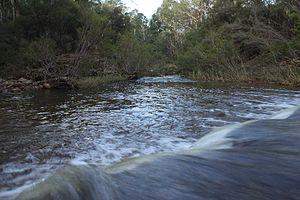 Wolgan River - Wolgan River, near Newnes
