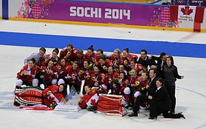 Canada at the 2014 Winter Olympics - Gold medal team Canada