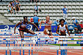 Women 100 m hurdles French Athletics Championships 2013 t145256.jpg