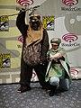 WonderCon 2011 Masquerade - Wicket and Princess Leia (5594078635).jpg