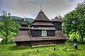 Wooden Church St. Michael of Ushok, Ukraine.jpg
