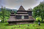 Wooden Church St. Michael of Ushok, Ukraine.jpg