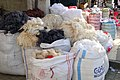 Wool Piled for Sale on Street - Diyarbakir - Turkey (5781794901).jpg