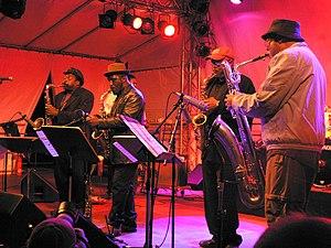 World Saxophone Quartet - Image: World Saxophone Quartet