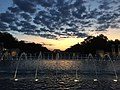 World War 2 Memorial at sunset Nicole Bouris.jpg