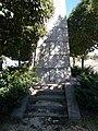 World War I obelisk, W, detail, 2020 Zalaegerszeg.jpg