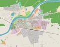 Wronki mapa miasta 2018.png