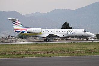 FlyMex - Image: XA AMM Embraer Emb.135 Fly Mex (7635429256)