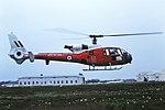 XW902 Gazelle RAF CVT 25-05-87 (43443309091).jpg