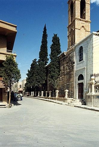 Yabroud - Streetview