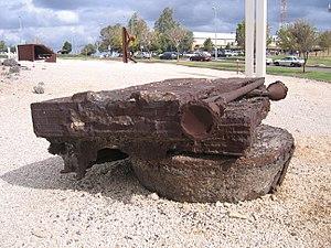 Ya'acov Dorchin - Tuba Merum, sculpture by Ya'acov Dorchin, 1994, Tefen Sculpture Garden, Galilee