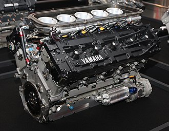 Judd (engine) - 1993 Yamaha OX10A engine, a variant of the Judd GV engine