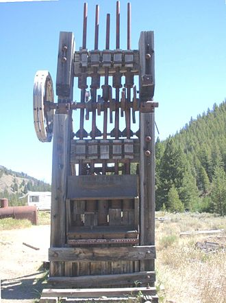 Custer County, Idaho - Image: Yankeeforkstamp