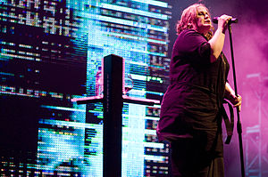 Yazoo (band) - Alison Moyet with Yazoo in 2008