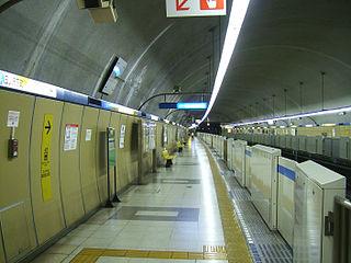 Mitsuzawa-shimochō Station Metro station in Yokohama, Japan